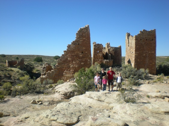The Family at Hovenweep N. M.