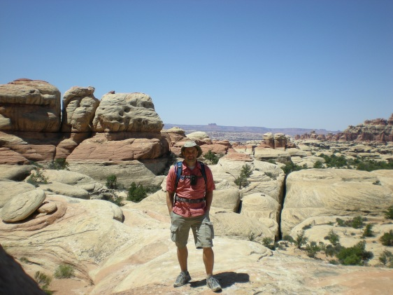 In Chestler Park, Needles District, Canyonlands N. P.